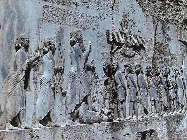 آشنایی با آثار باستانی کرمانشاه(کتیبه بیستون) 1